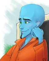 Megamind by LordSiverius