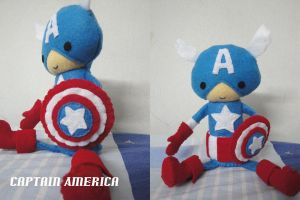Captain America by lunayan