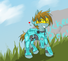 RvB Tucker pony by Yirina
