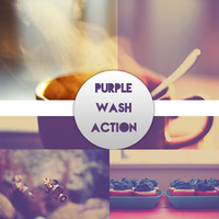 Purple wash action by MagicalMoment