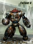 Fallout 4 Sentry Bot by FSudol