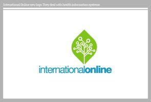 International Online logo by PoorDesigners
