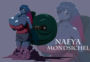 Naeya Mondsichel by BlackSen