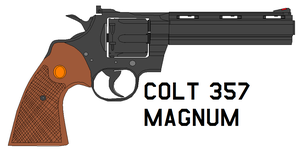 colt 357 Magnum by bagera3005