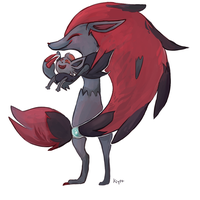 Zoroark by Kiytt