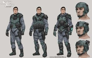StarShip Troopers Mobile Infantry by alexson1