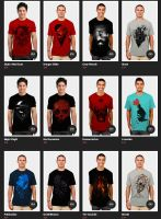 DESIGNBYHUMANS COLLECTIVE SHIRTS!!! by NicebleedArt