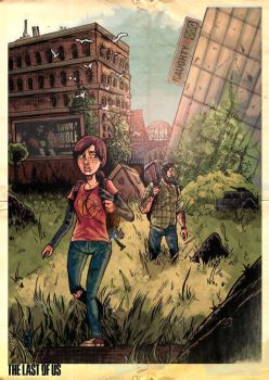The Last Of Us Alone And Forsaken by CGGoddard