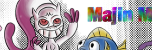 Majin mew banner by megadrivesonic