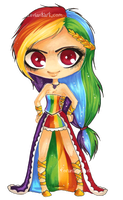 MLP:FiM Rainbow Dash by Daemla