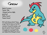 Gnaw Reference Sheet by DragonwolfRooke