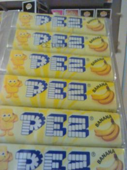 Banana Flavored Pez by Tommypezmaster