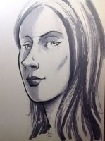 Portrait with Markers by aminamat