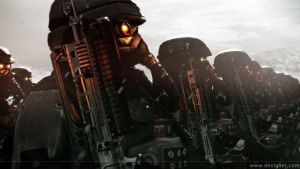 "Killzone ""Helghast soldiers"" by SirIssac"