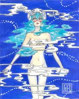 Nelliel in blue by RoksiL