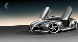 The New mercedes benz mclaren by ashury
