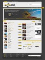 Video Hosting Design by Jazzoline