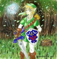 link.. he come to town.. XD by bob-chan