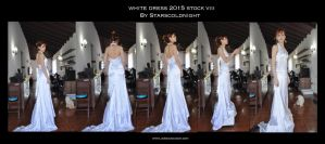 White Dress 2015 Stock 8 By Starscoldnight by StarsColdNight