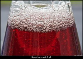 Strawberry soft drink by Mathness