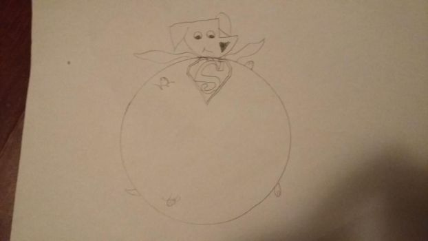 Krypto the Superballoon by OfSunshineAndRainbow