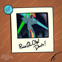 RainGLOW Dash by CosmicWaltz