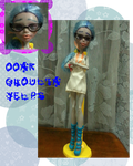 MH Doll_OOAK Ghoulia Yelps by FatinFantine
