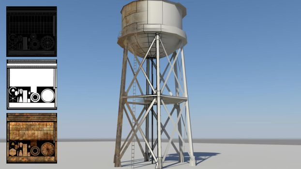 Water Tower by MarchandVenter