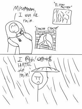 How we really feel about rain by ginko-guy