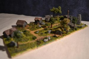 Miniature village by ExactMouser