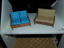 Miniature Couches by kayanah