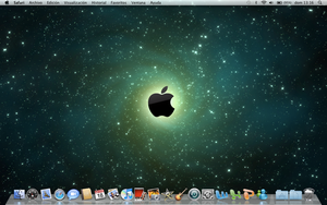 Desktop Mac OS X Snow Leopard by gangsterg