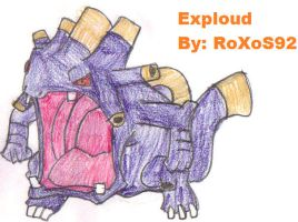 Exploud by RoXoS92