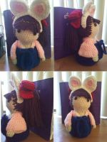 Crochet Hazuki of Moonphase by CreationsbyJolie