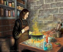 Snape is working by miyavi