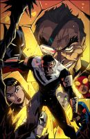 Batman Beyond Universe #4 by KharyRandolph