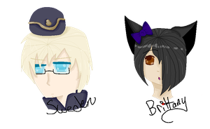 Iron Artist Challenge Sweden and Brittany by The-Insane-Puppeteer