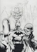 batman hush sketch by BIG-D-ARTiZ