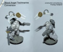 Bloodangel Techmarine Conversion by Olovni