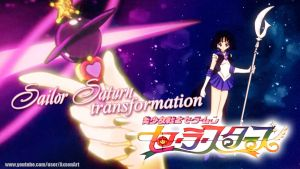 Sailor Saturn Transformation by Axsens