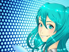 Hatsune Miku by Hde-and-seeK