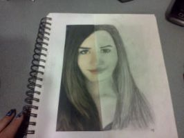 Art Homework - Demi Lovato by Spooneh21