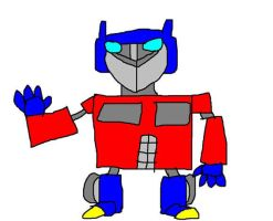 My Optimus Prime by Blackrhinoranger