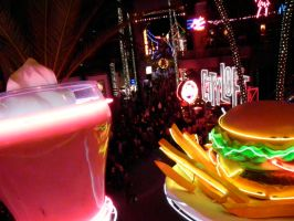New Year, Universal Citywalk by 8thAndOliver