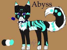 My Warriors OC abyss- no wings by Lupasstar