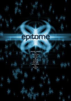 Epitome Poster by hubsy