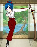 Miyumi at Kendo class by Blackcats-13