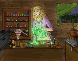 Herbalist Taymir- Trade by Captain-Savvy