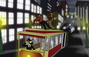 Indiana Bones: The Staff of Kings (Trolley Fight) by TateShaw