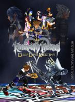 Kingdom Hearts Deep Dive Destiny by orcalus